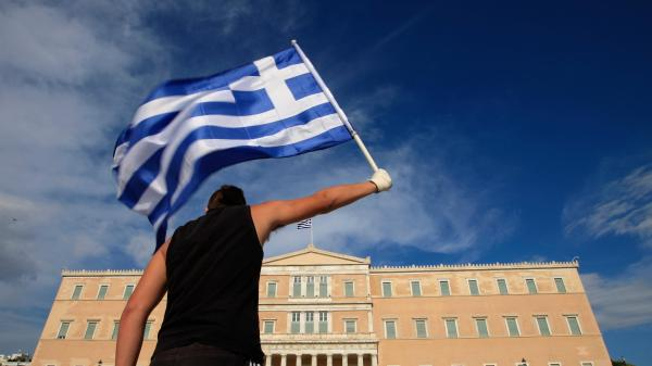 Face up to pain or quit euro, Greece told