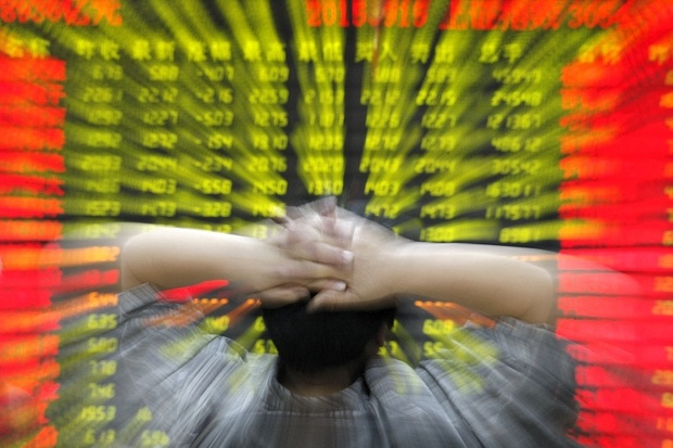 China crackdown hits stock markets